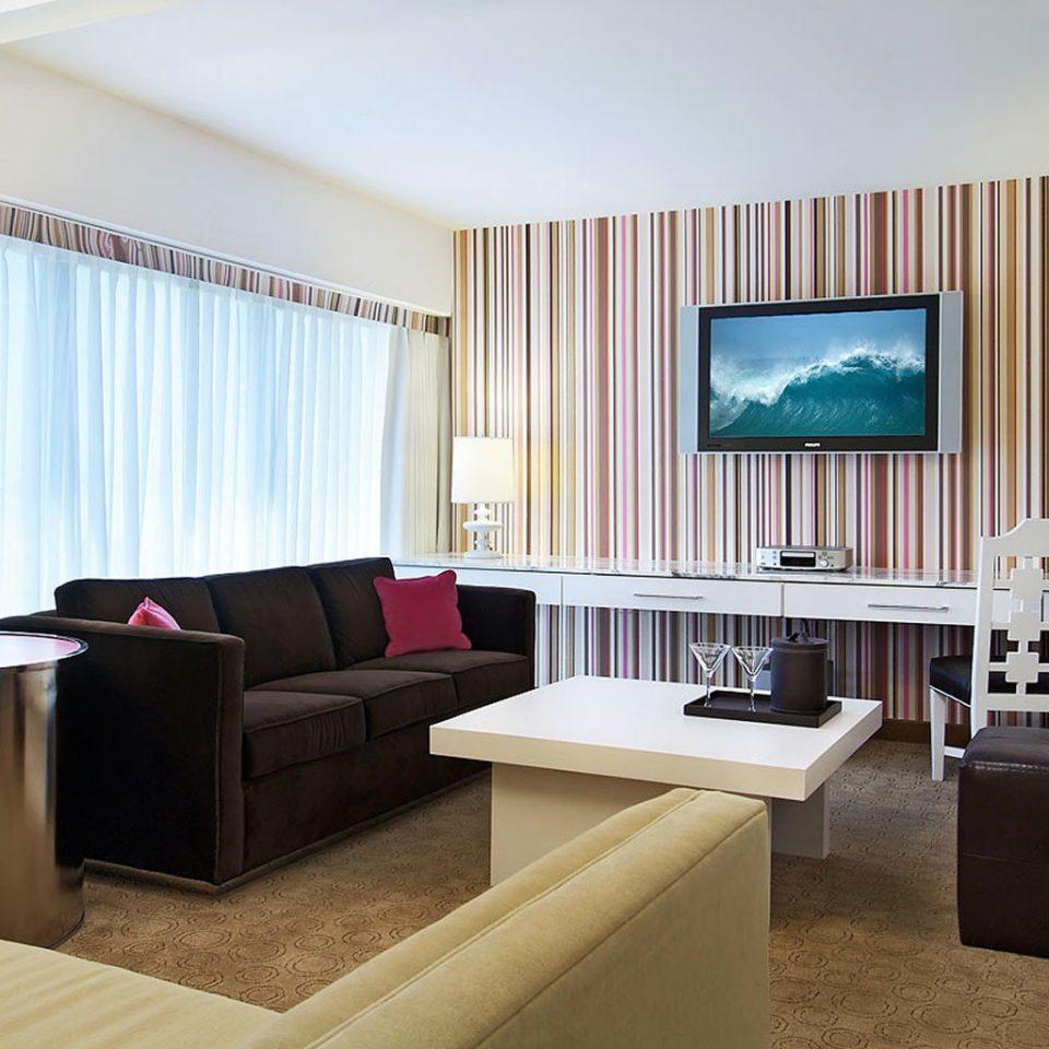 living room property condominium Suite home flat Villa Modern
