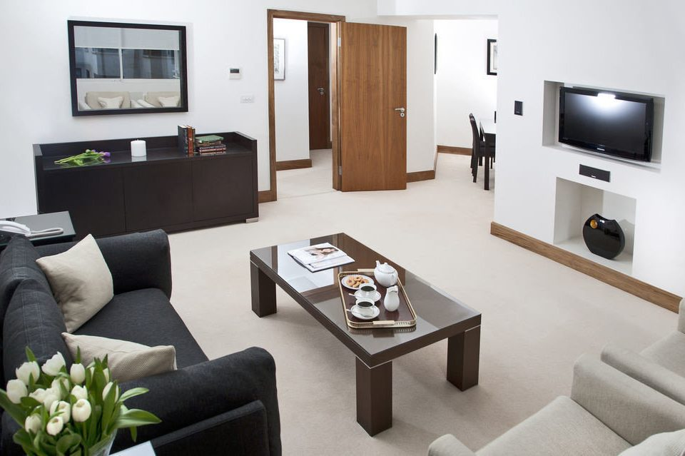 sofa property living room condominium Suite home cottage Villa Modern