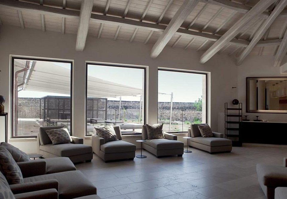 property living room condominium home loft Villa Modern
