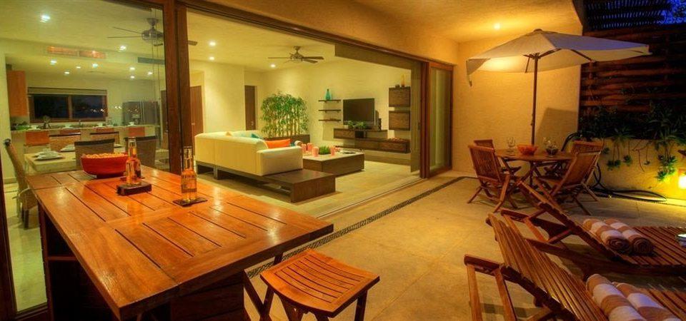 property living room home restaurant Villa cottage mansion Modern dining table