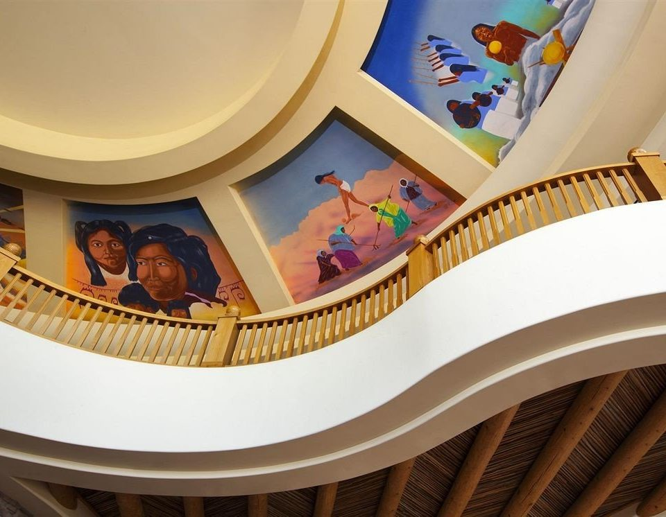 mural stairs