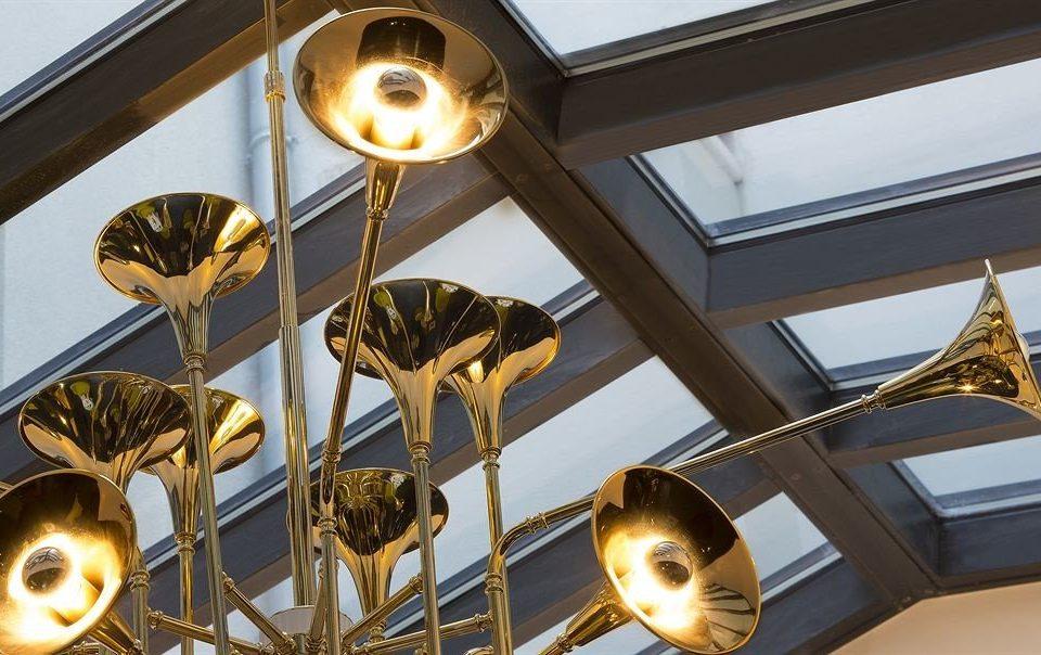 brass Music lighting daylighting light fixture