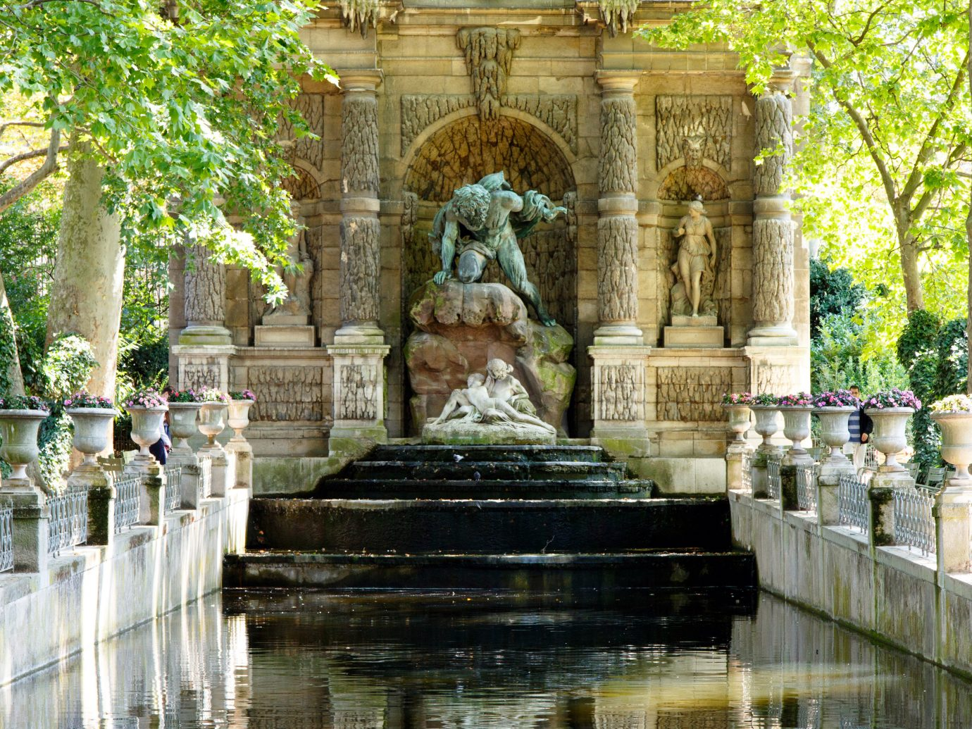 France Paris Trip Ideas landmark tourism temple water feature palace place of worship estate fountain ancient history shrine monument Garden altar colonnade