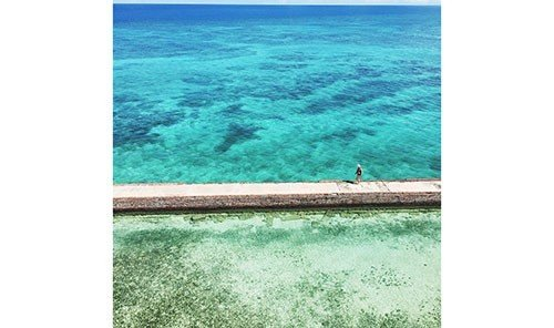Arts + Culture water Ocean Sea caribbean inlet Coast wave shore