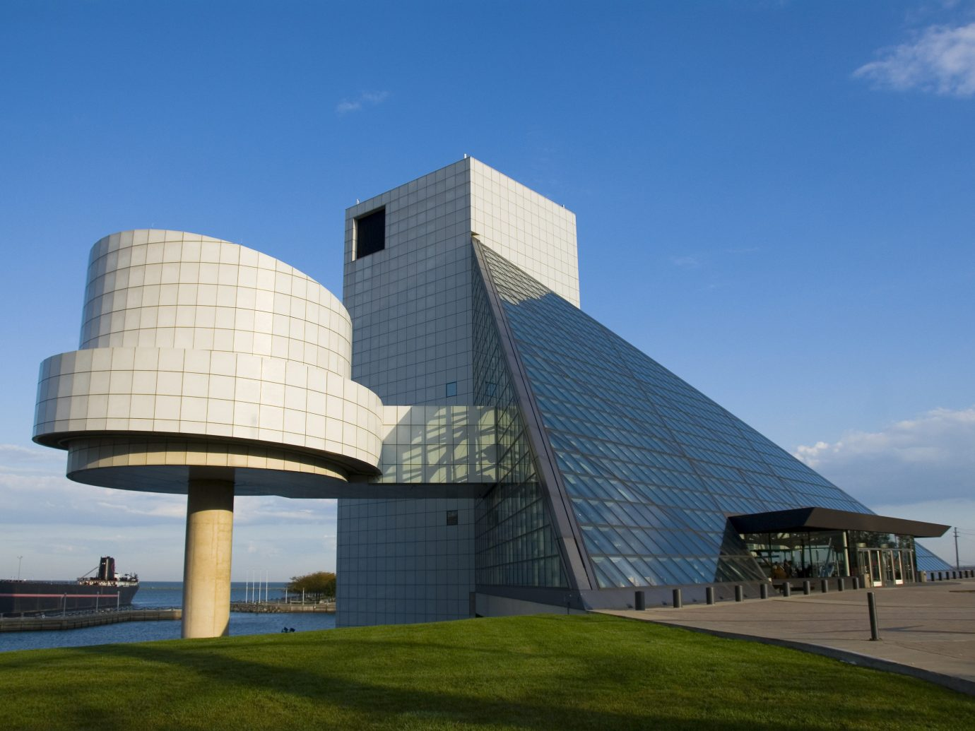 Road Trips Trip Ideas sky landmark Architecture daytime building corporate headquarters facade headquarters cloud