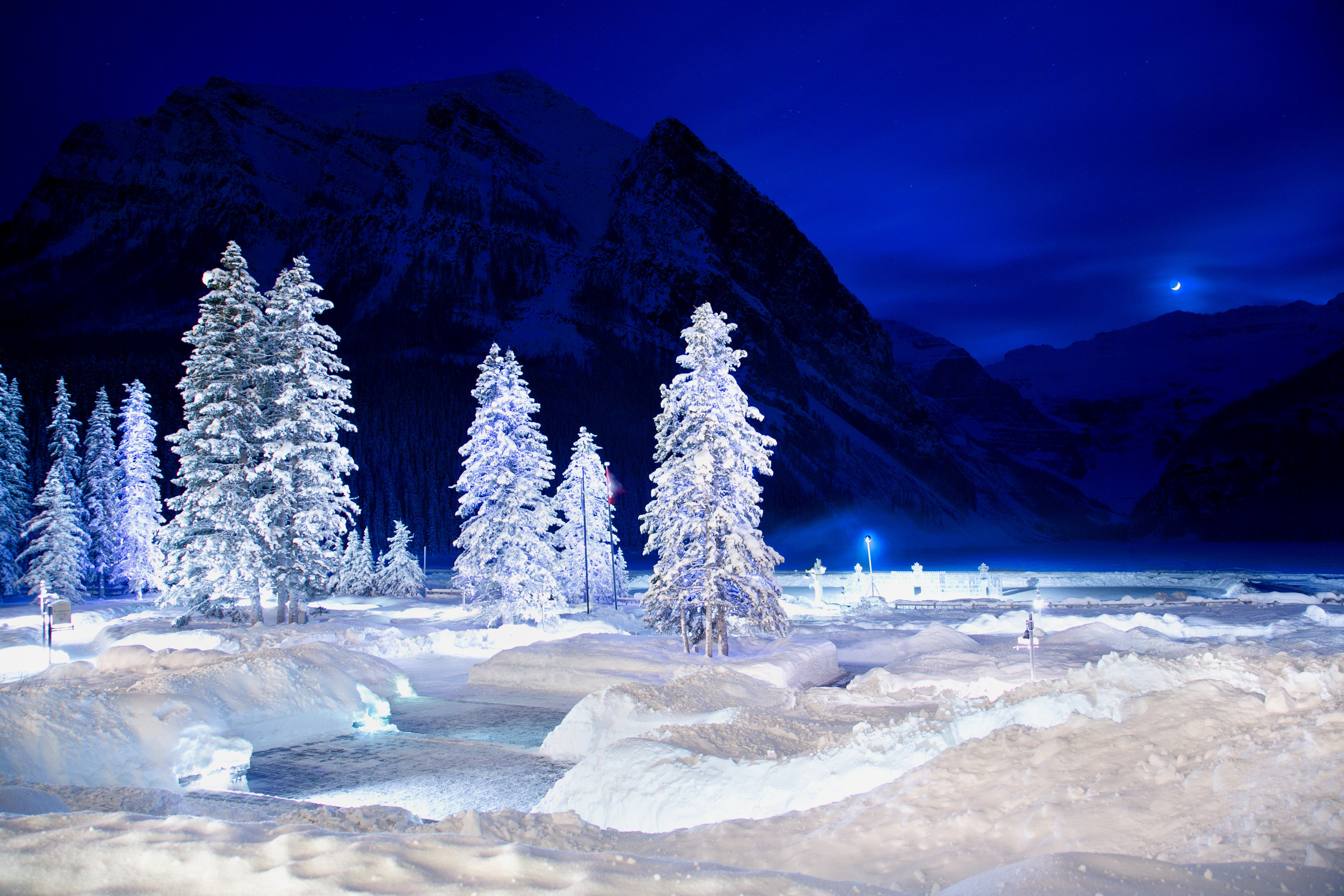 Natural wonders Resort Scenic views snow Winter Nature ice weather freezing arctic slope spring