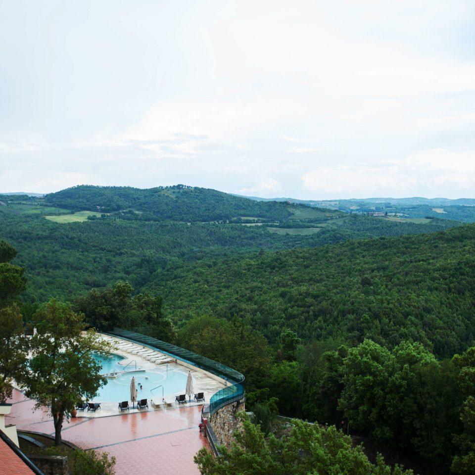 tree sky mountain hill Nature reservoir hillside