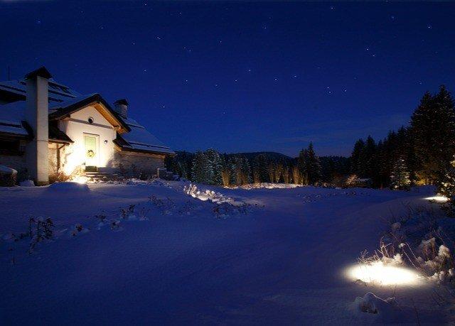 sky snow Winter night weather light season Nature evening freezing dark dusk Night Sky