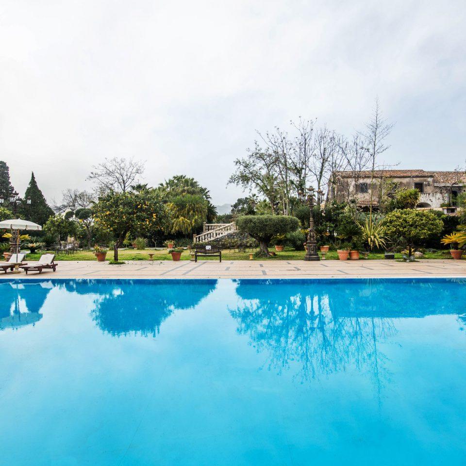 sky tree water swimming pool property Resort Nature reflecting pool Pool backyard