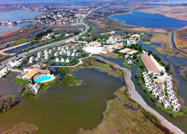 Nature aerial photography bird's eye view structure sport venue mountain outdoor recreation Resort many marina park amusement park waterway shore