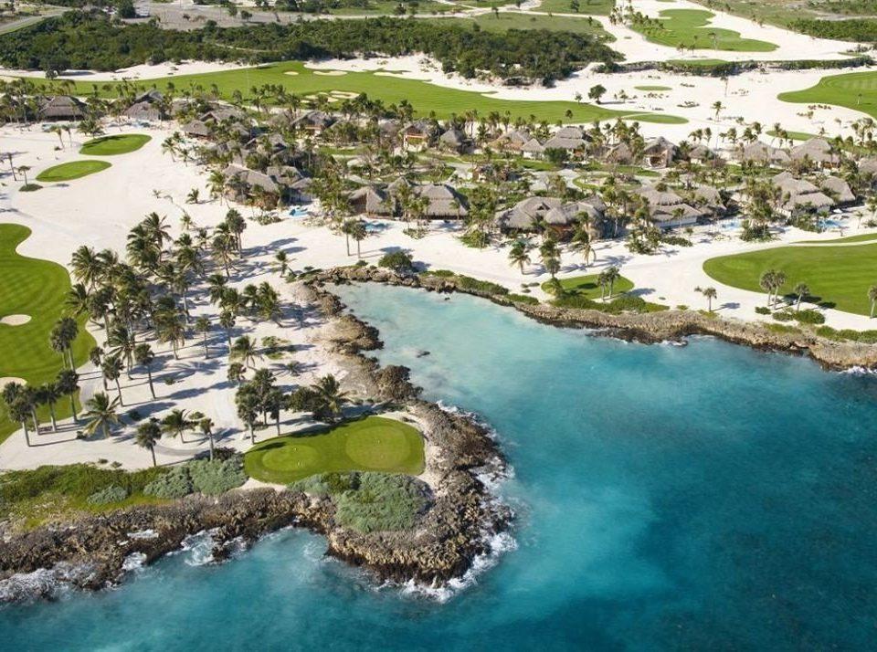 grass aerial photography Nature bird's eye view marina Resort reef dock reservoir pond shore hillside