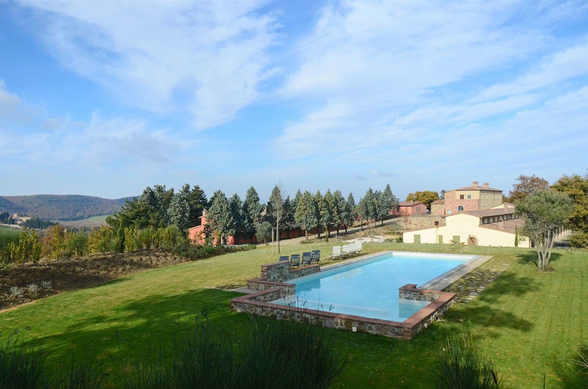 grass sky property swimming pool Nature Villa Resort mansion grassy reservoir lush