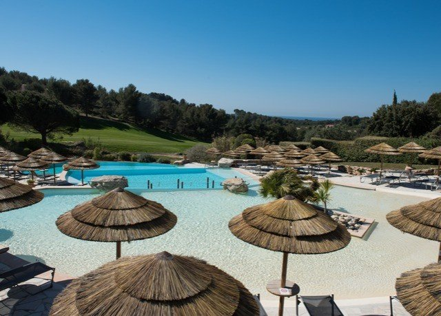 sky umbrella water leisure swimming pool property Resort Nature Villa