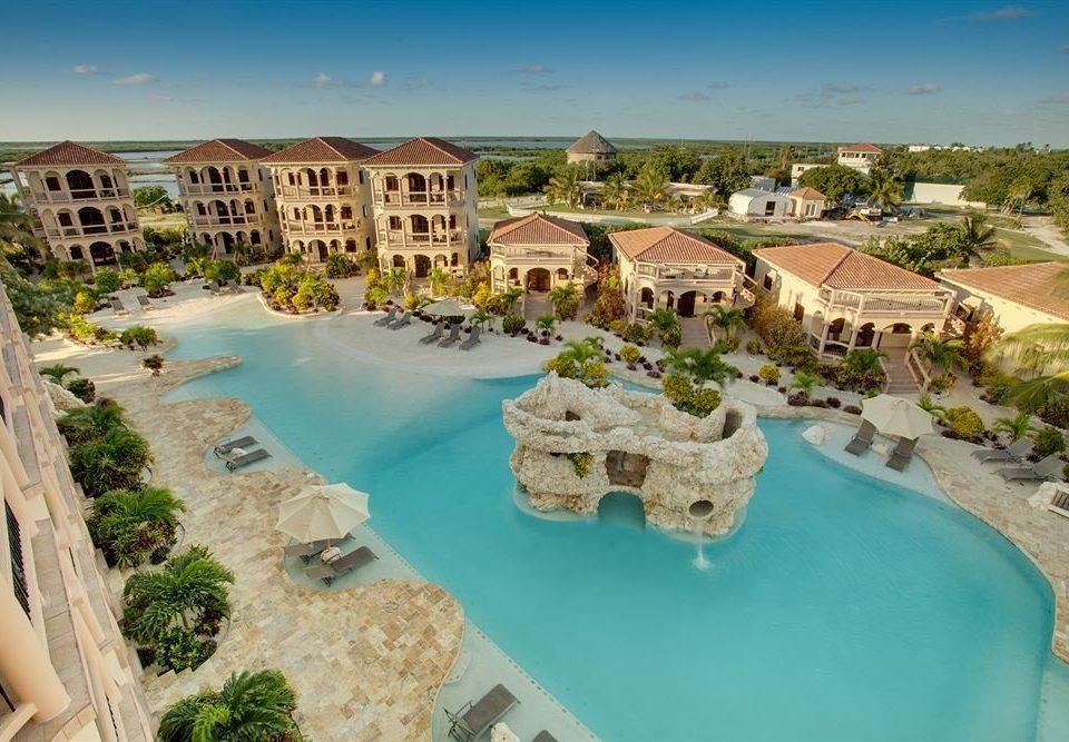 leisure swimming pool property Resort Nature Water park resort town Village Villa mansion condominium shore