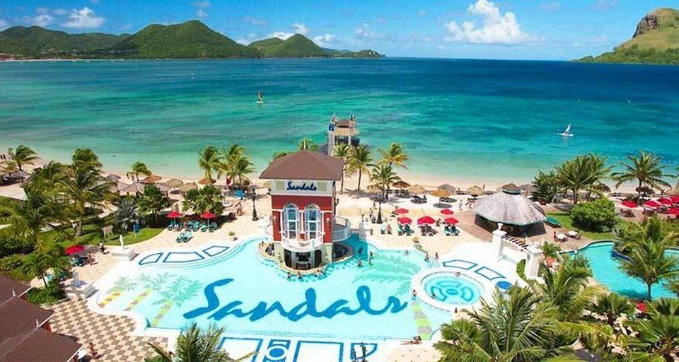 water leisure Resort caribbean Nature amusement park Water park park colorful shore beautiful