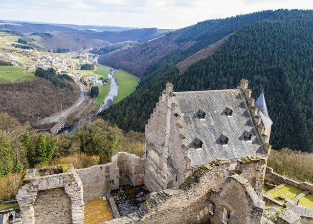 mountain Nature geological phenomenon valley canyon fortification mountain range quarry Ruins Village monastery cliff terrain hillside