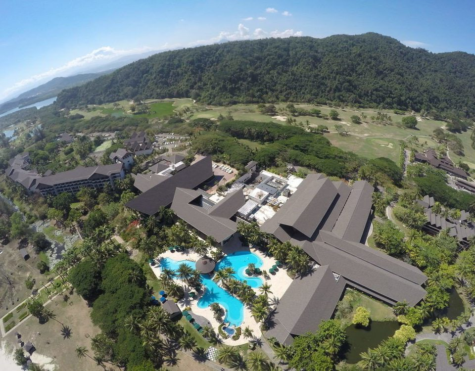 mountain sky bird's eye view aerial photography property photography Nature Town residential area hill overlooking hillside highway