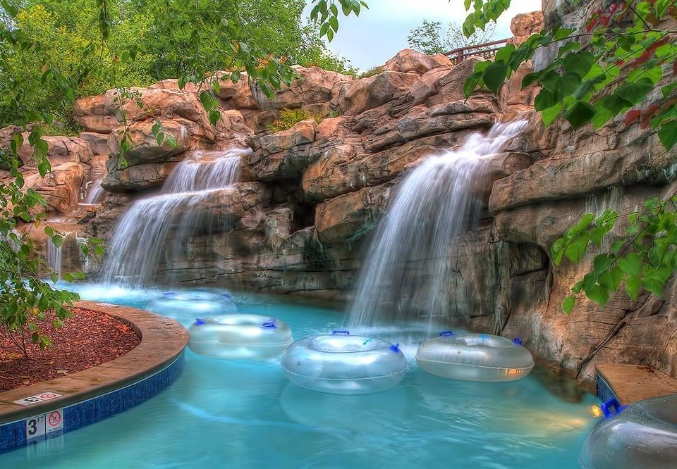 Nature Waterfall rock swimming pool water water feature watercourse park