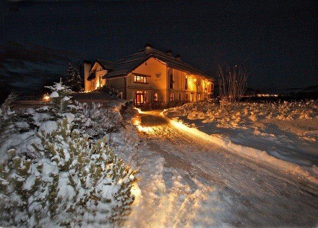 snow Winter weather night geological phenomenon Nature season morning evening