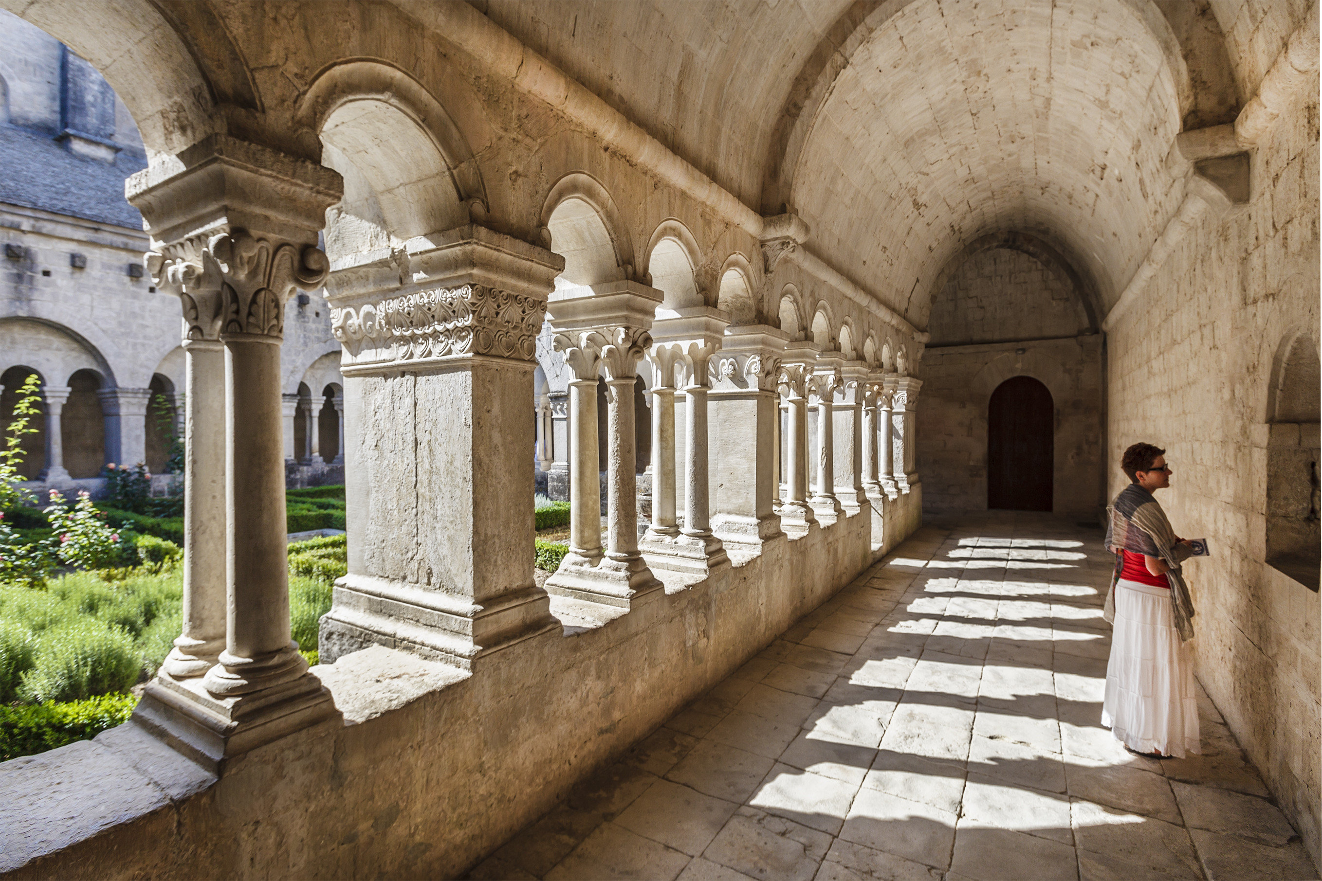 Trip Ideas building Architecture ancient history court monastery arch aisle temple place of worship palace estate arcade history stone Courtyard walkway colonnade