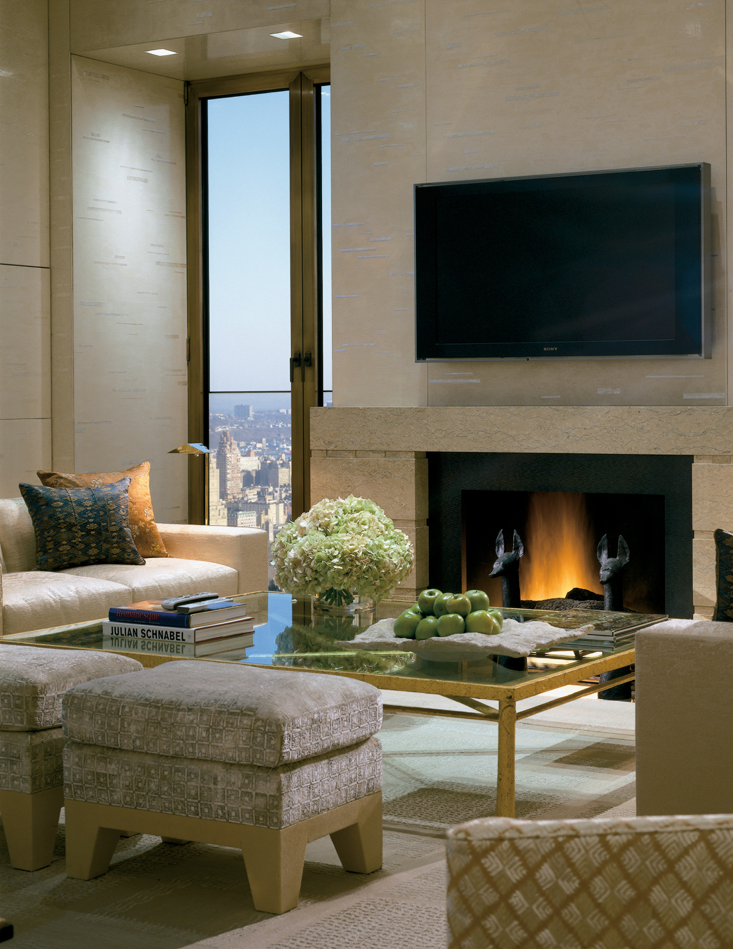 Hotels Luxury Travel Living living room indoor interior design room hearth Fireplace home furniture table ceiling window interior designer floor flooring stone