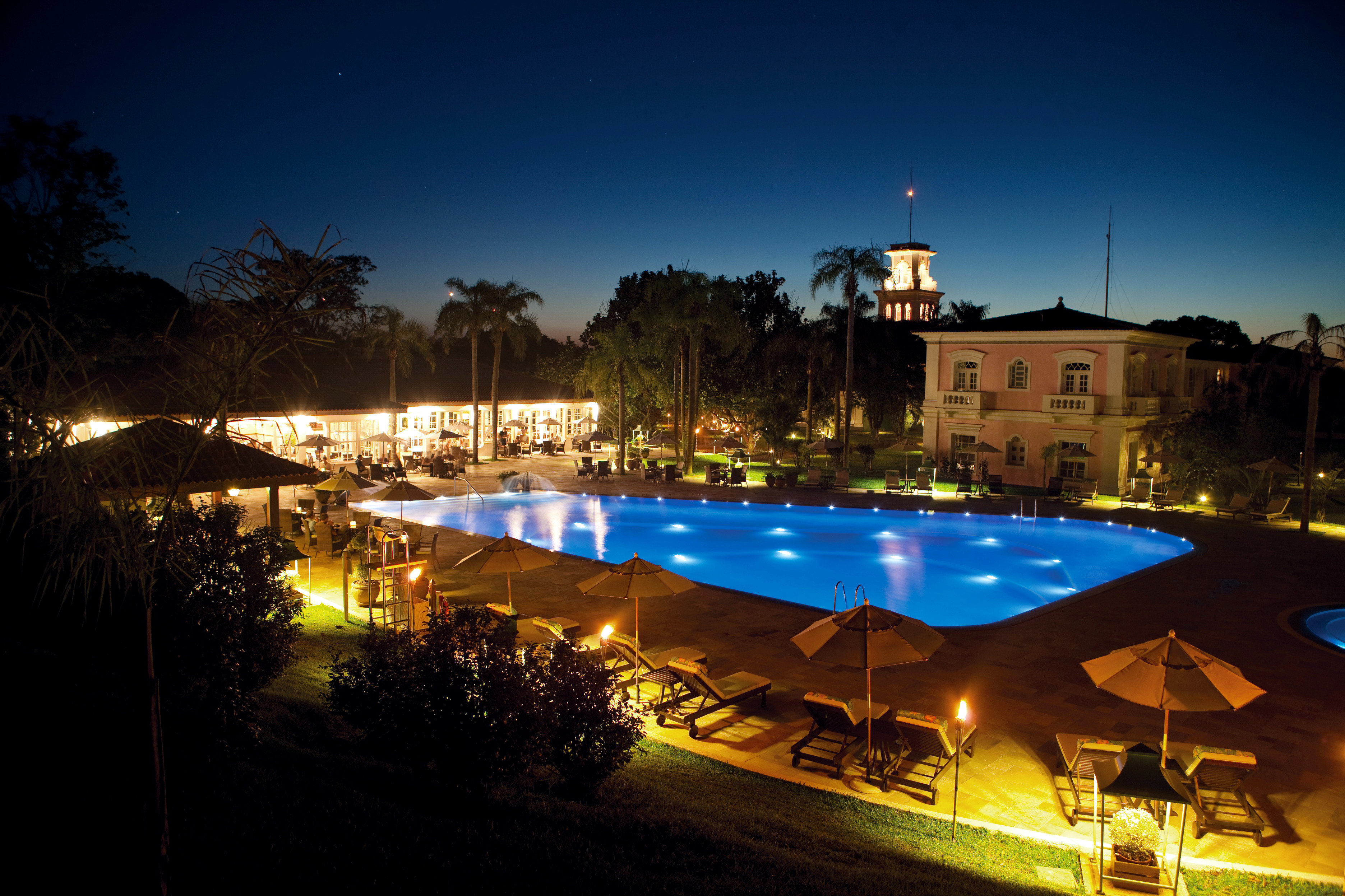Nightlife Play Pool Resort sky tree night evening swimming pool dusk