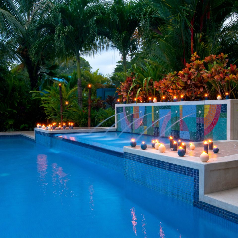 Nightlife Play Pool Resort tree swimming pool leisure property backyard blue Villa resort town swimming