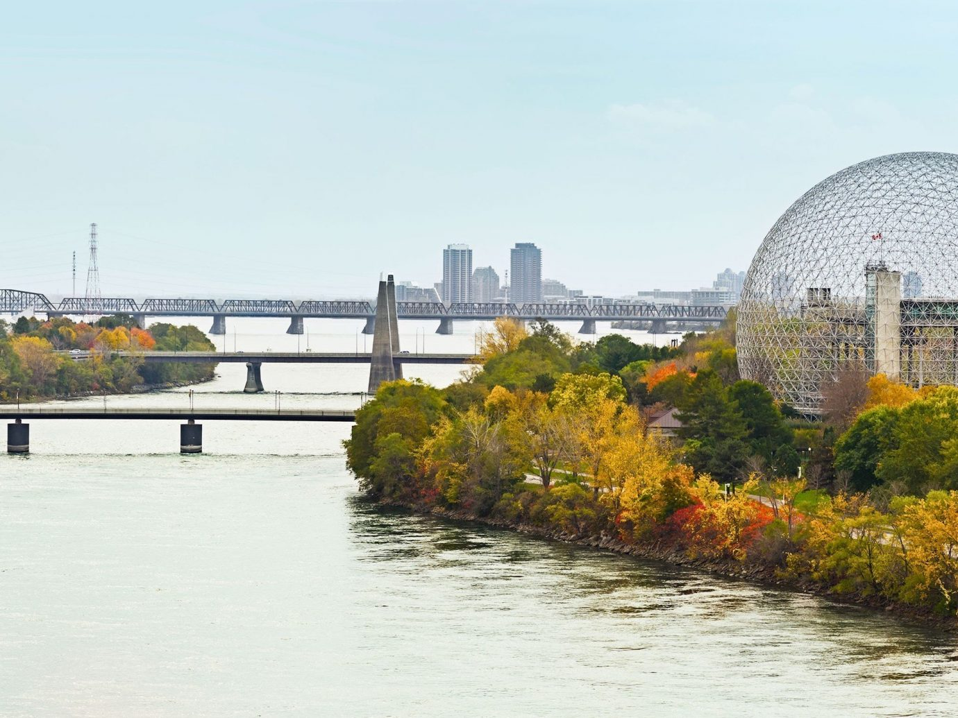 Trip Ideas sky outdoor water River landmark bridge cityscape tourism waterway reflection skyline traveling day