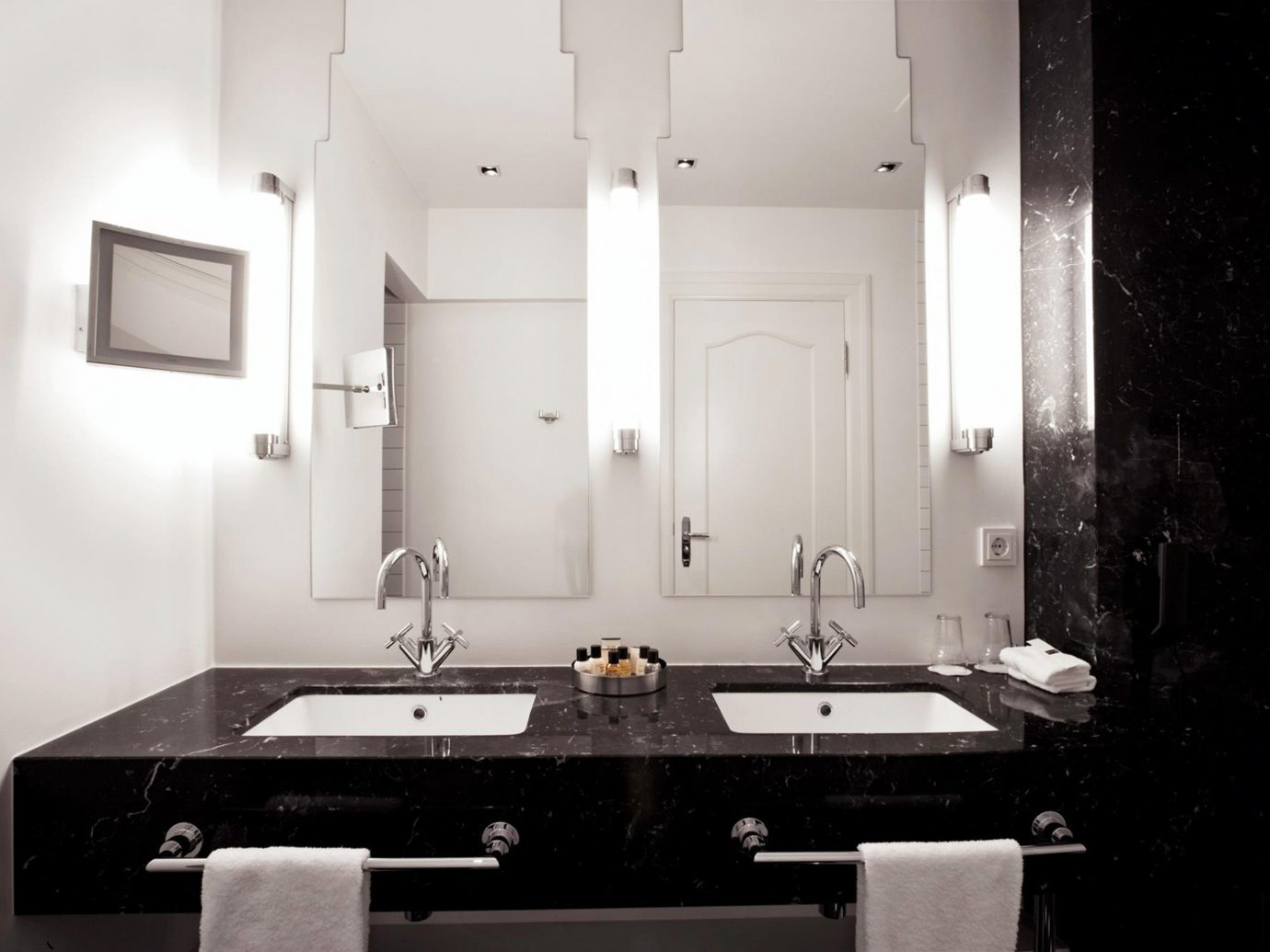 Bath Boutique Boutique Hotels Design Hotels Iceland Modern Reykjavík wall bathroom indoor white room mirror house sink home floor interior design lighting plumbing fixture estate toilet