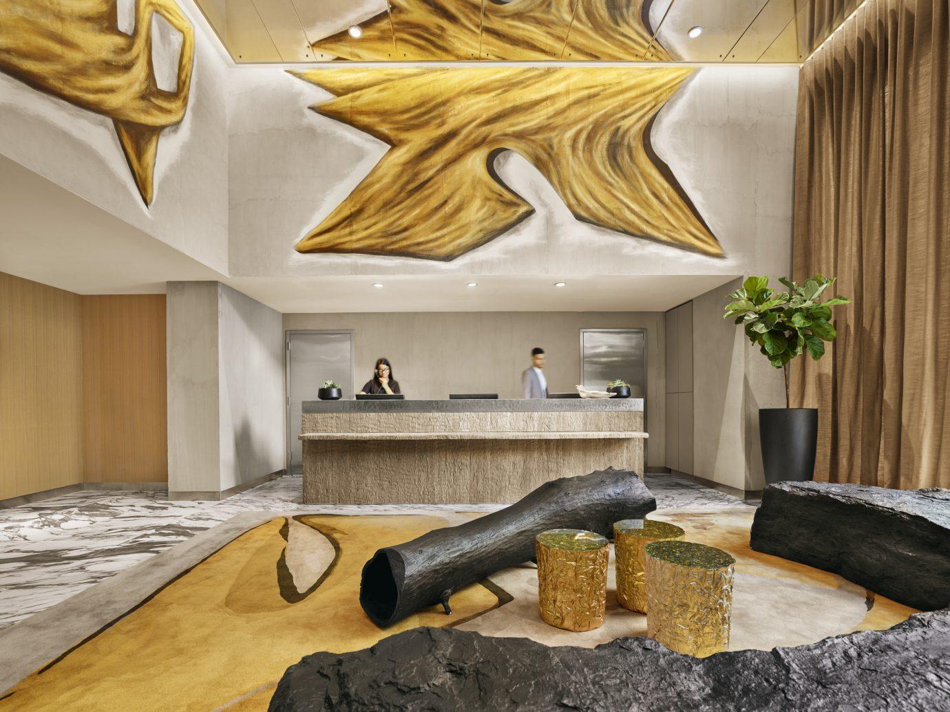 NYC Trip Ideas indoor interior design room ceiling living room Lobby real estate interior designer furniture