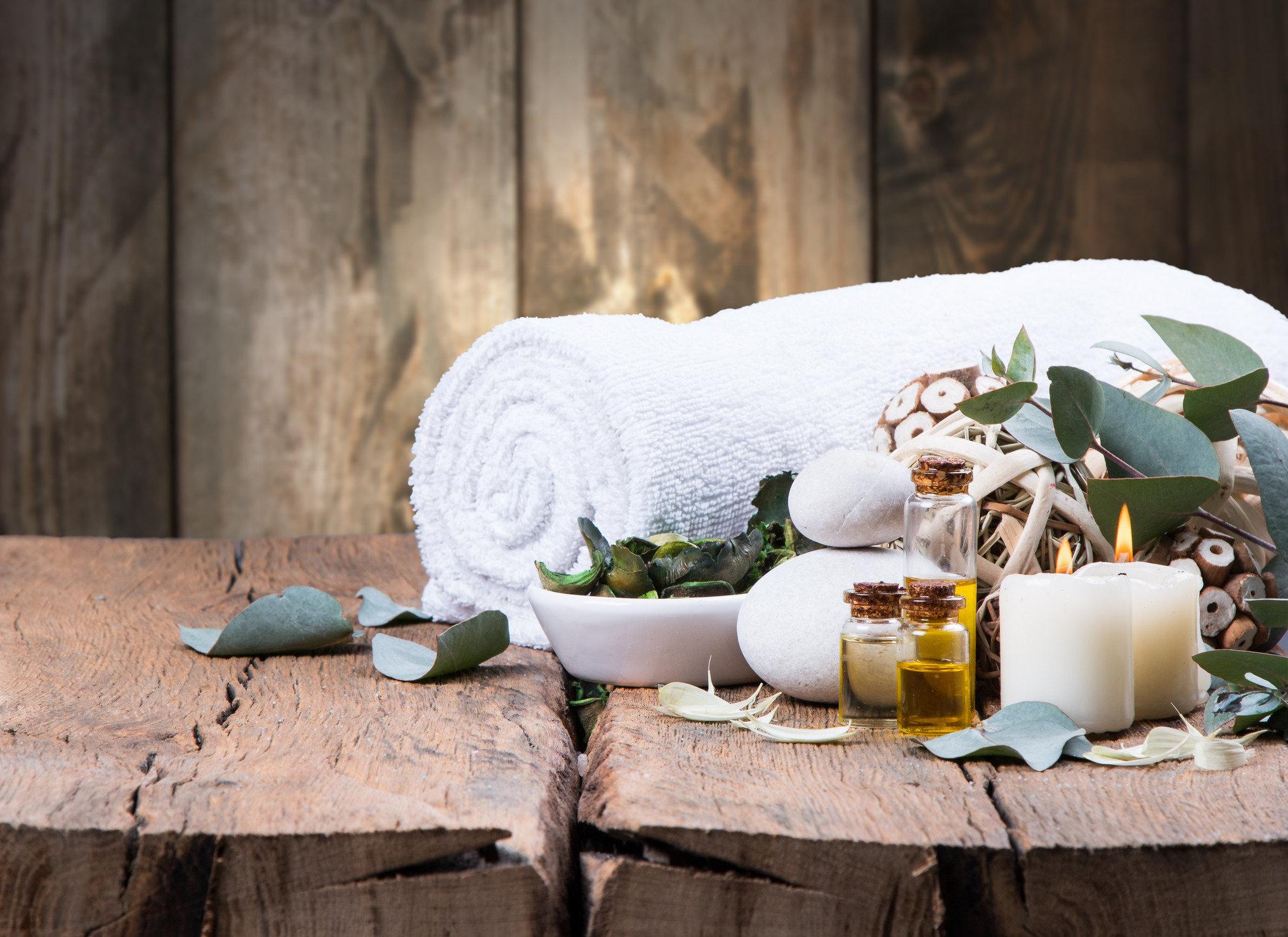 Health + Wellness Spa Retreats Travel Tips green flower spring ceremony sofa stone