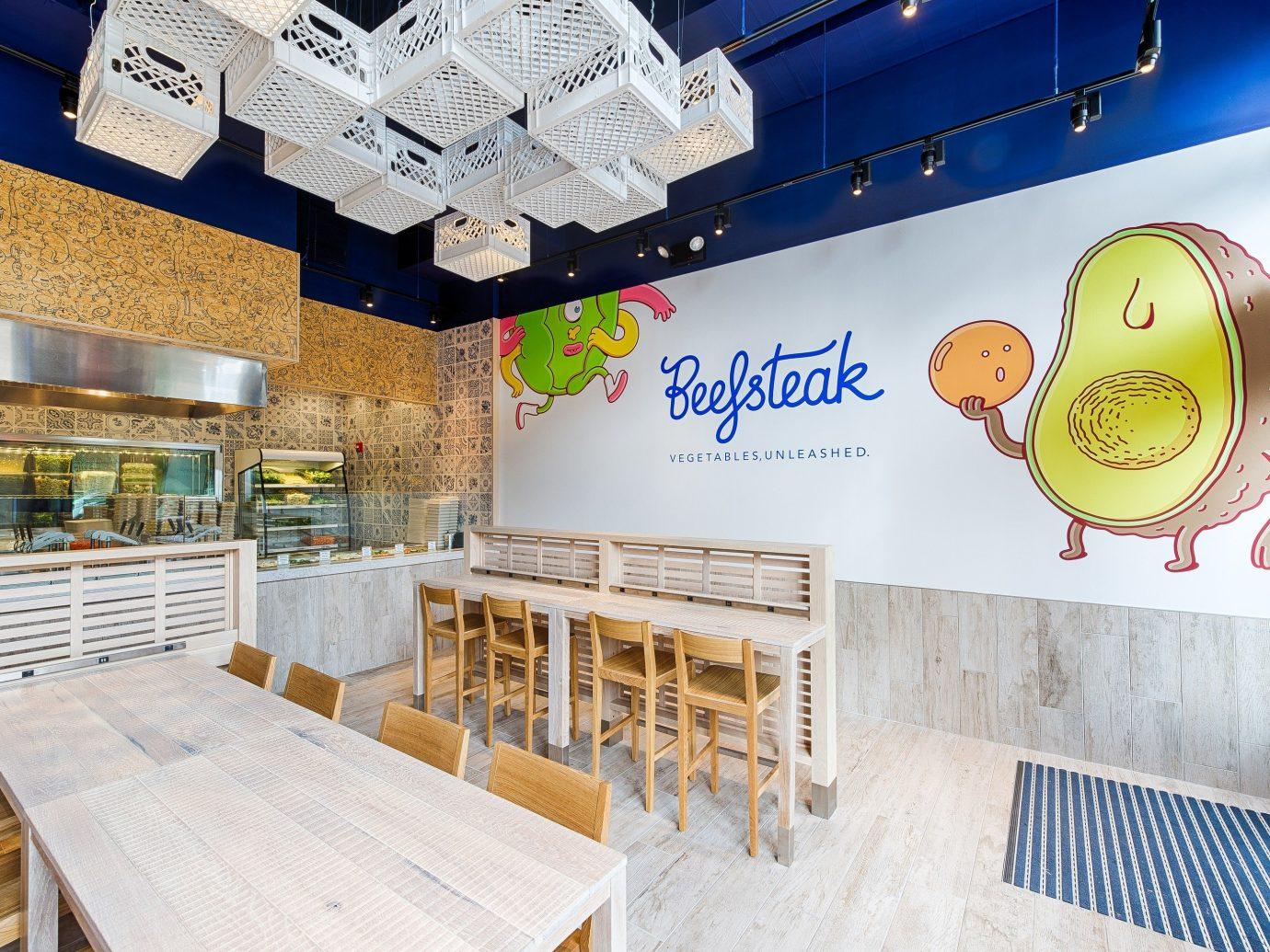 Food + Drink indoor floor room interior design restaurant Design