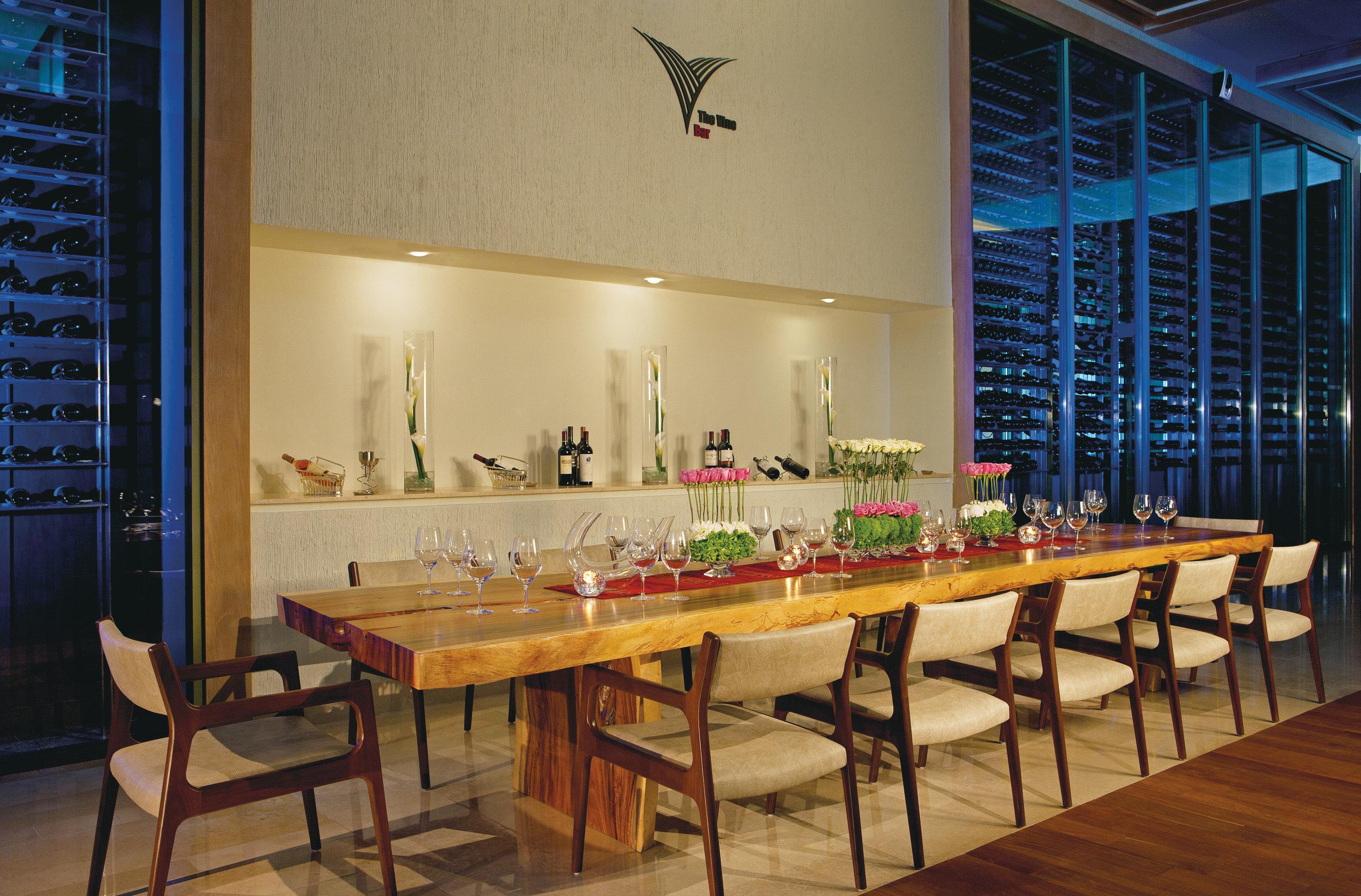 Hotels floor indoor room restaurant interior design dining room estate Bar Design