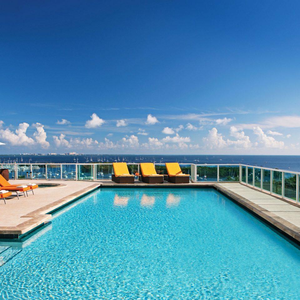 Ocean Patio Pool Waterfront sky swimming pool leisure Resort Sea marina dock caribbean
