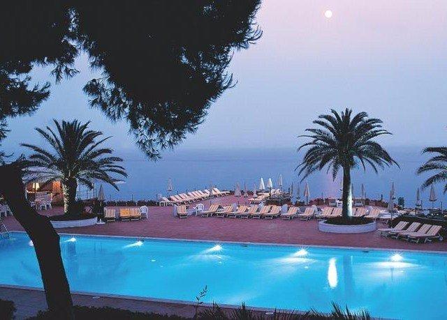 tree palm swimming pool Resort arecales Ocean Sea Pool shore swimming