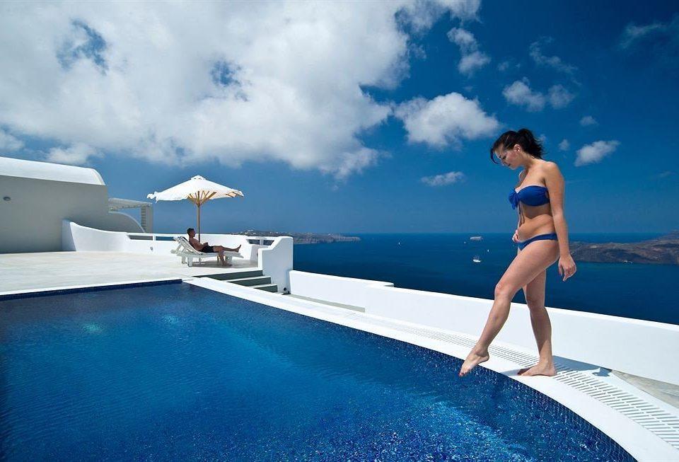 sky water leisure swimming pool blue Sea Ocean caribbean Pool swimming