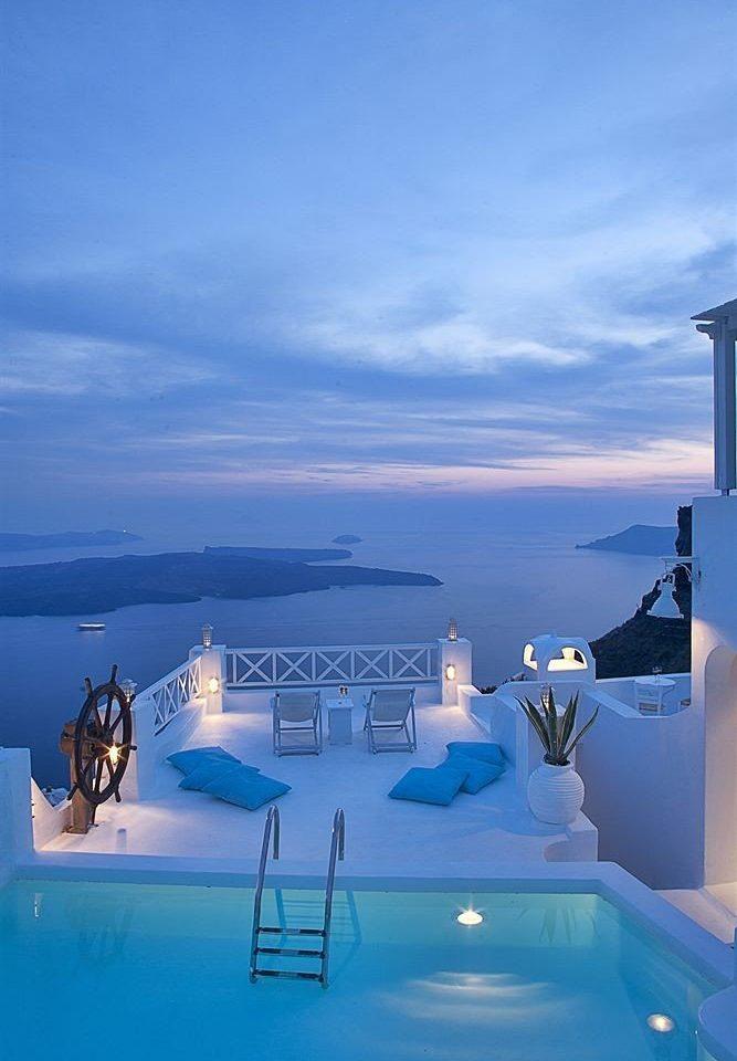 sky blue Sea Ocean swimming pool Resort vehicle day