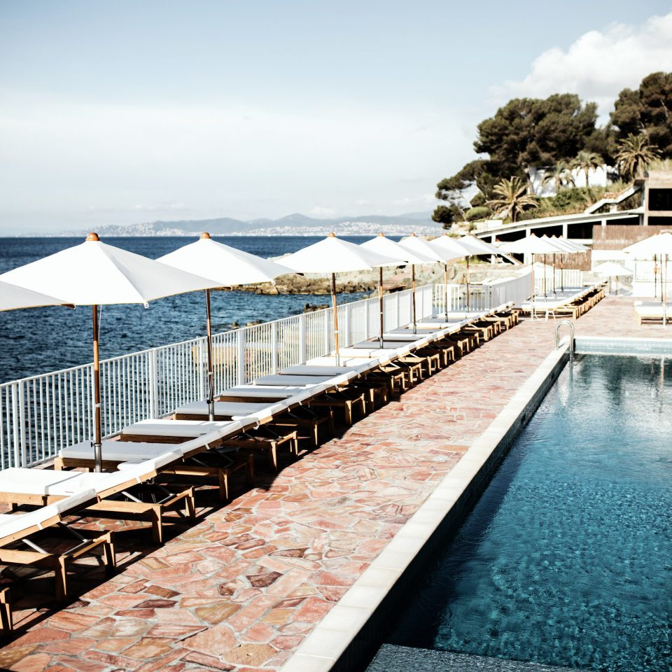 sky water scene pier swimming pool Sea leisure cloud Resort dock condominium Ocean lined walkway