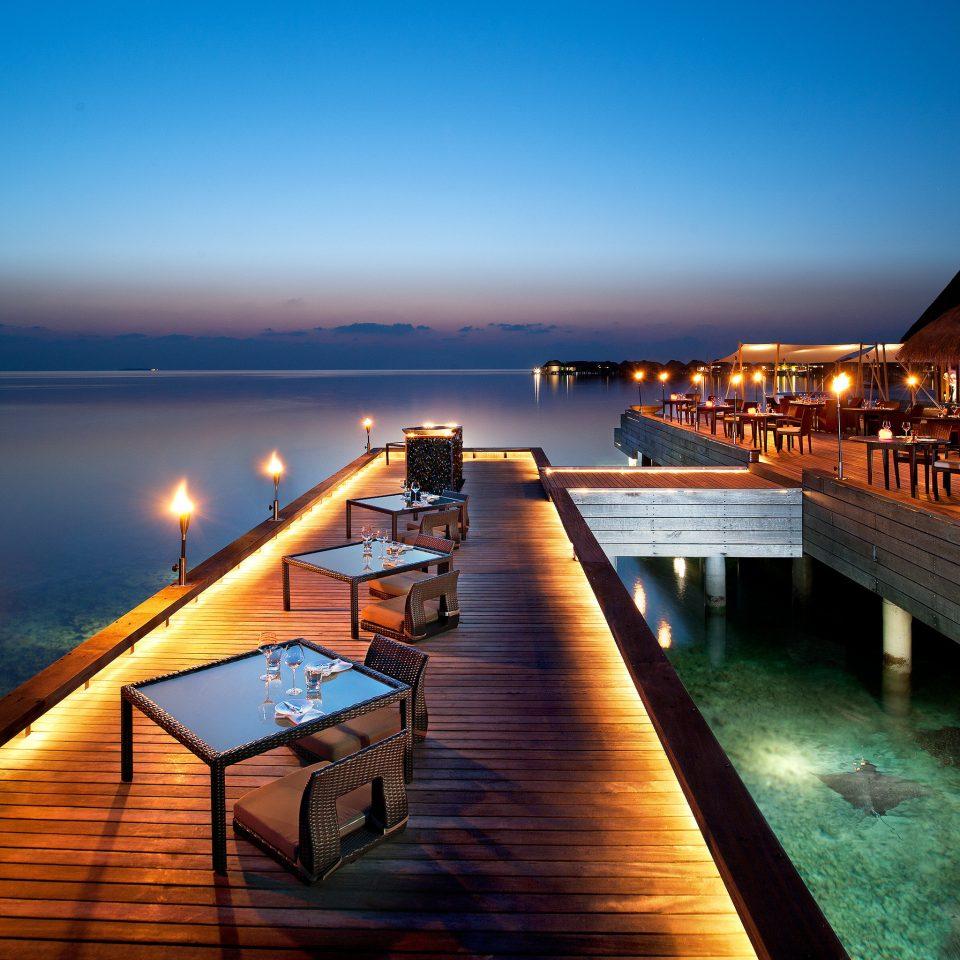 Trip Ideas sky water scene pier Sea Ocean night evening dock dusk Sunset Resort marina