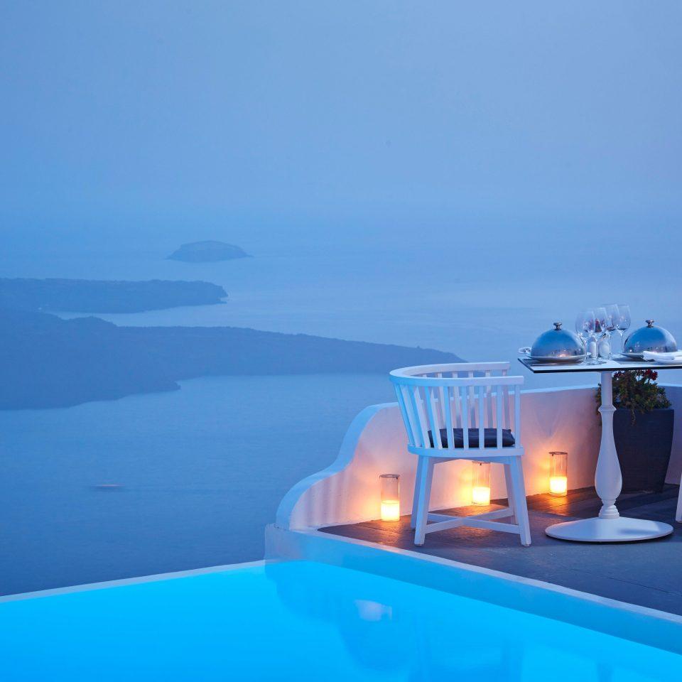 sky water blue swimming pool Ocean Sea Resort caribbean Villa overlooking