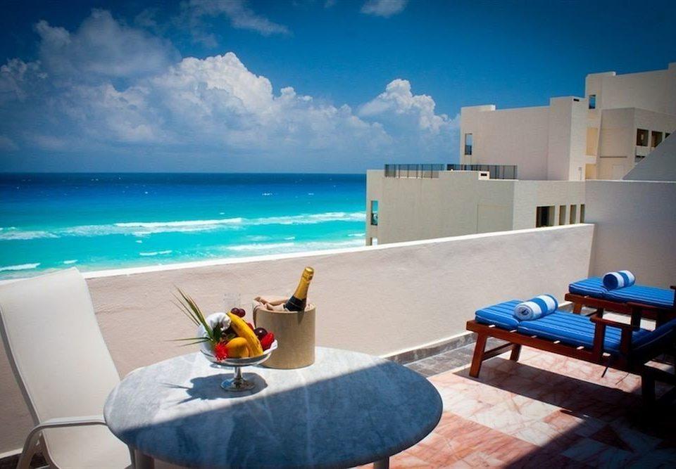 sky blue swimming pool leisure property caribbean house Ocean Sea Villa home Resort shore