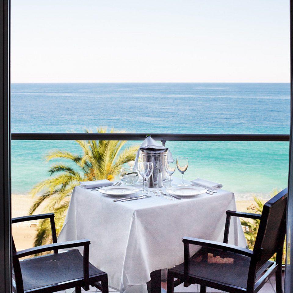 water property Ocean restaurant home overlooking Resort Suite Villa cottage shore