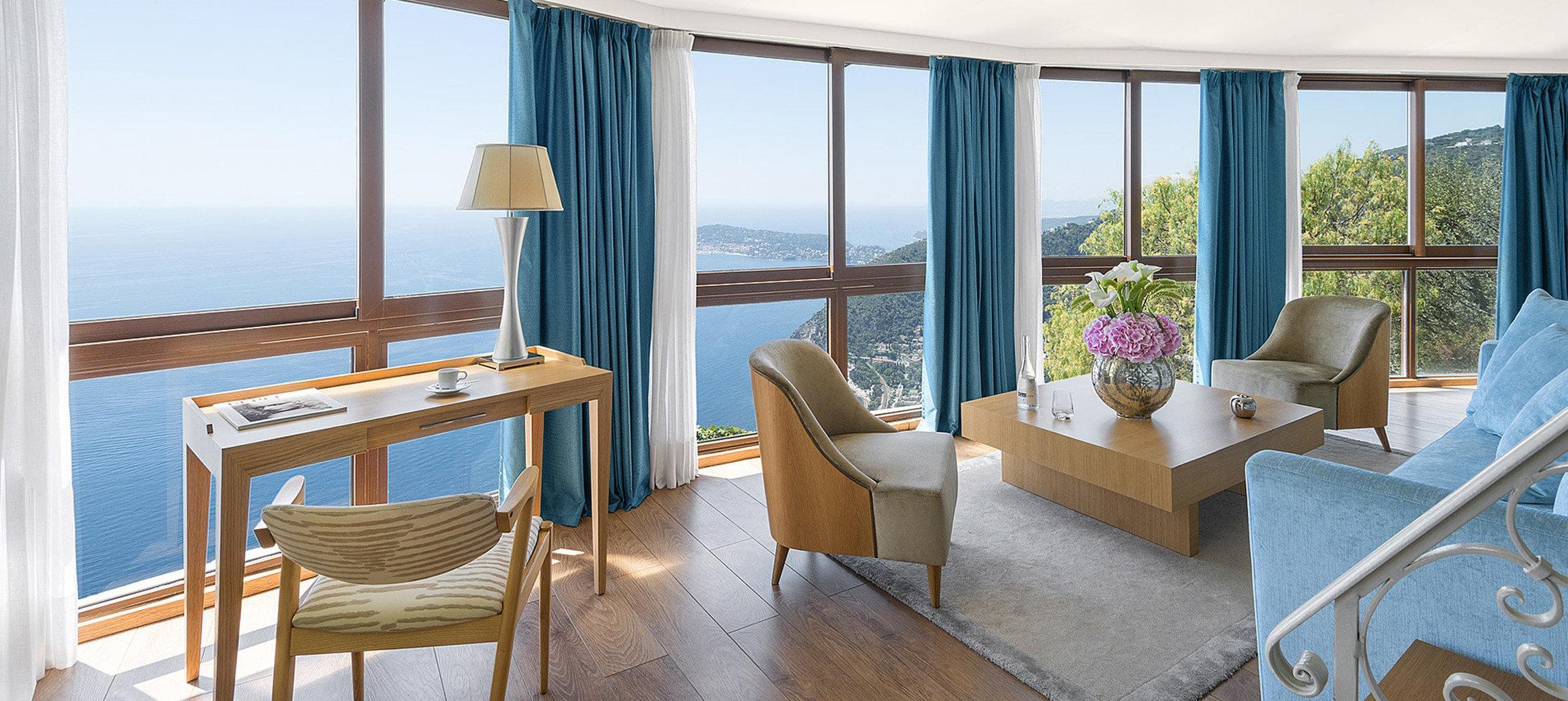 chair property house home cottage Ocean Suite Resort living room Villa nice condominium overlooking