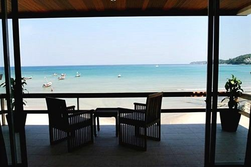 water Ocean chair sky property overlooking leisure facing shore Resort Villa caribbean cottage lined