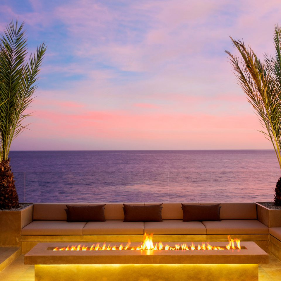 Romance Trip Ideas sky water tree Ocean Sea arecales morning Sunset plant shore