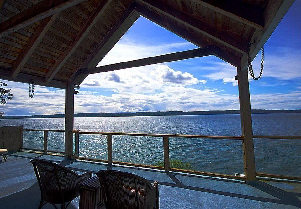 water sky overlooking Ocean Sea house vehicle