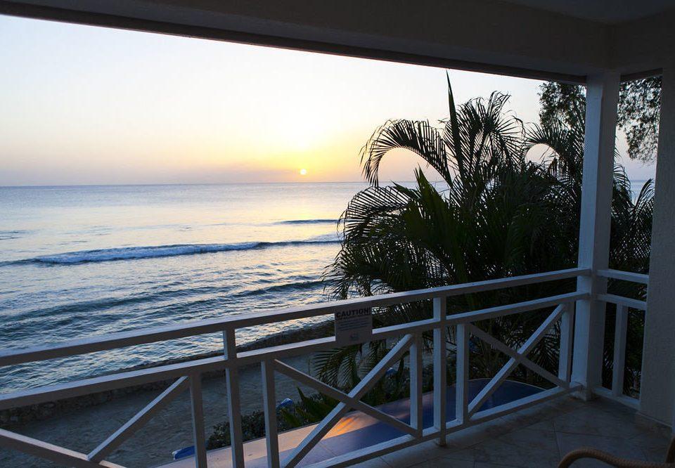 sky water Ocean Sea railing overlooking