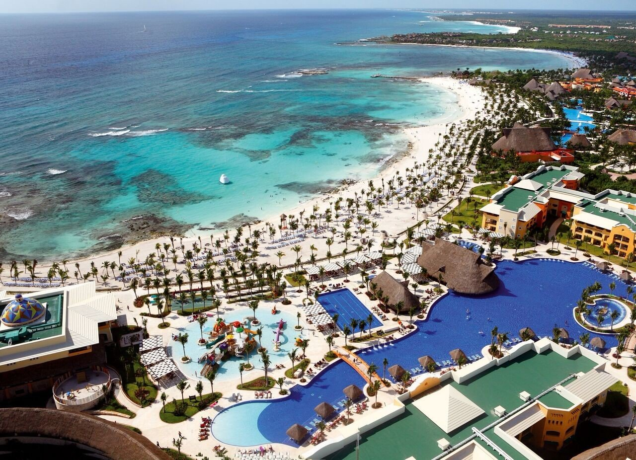 All-Inclusive Resorts Family Travel Hotels Resort tourism aerial photography leisure vacation coastal and oceanic landforms resort town Coast bird's eye view bay City artificial island recreation shore