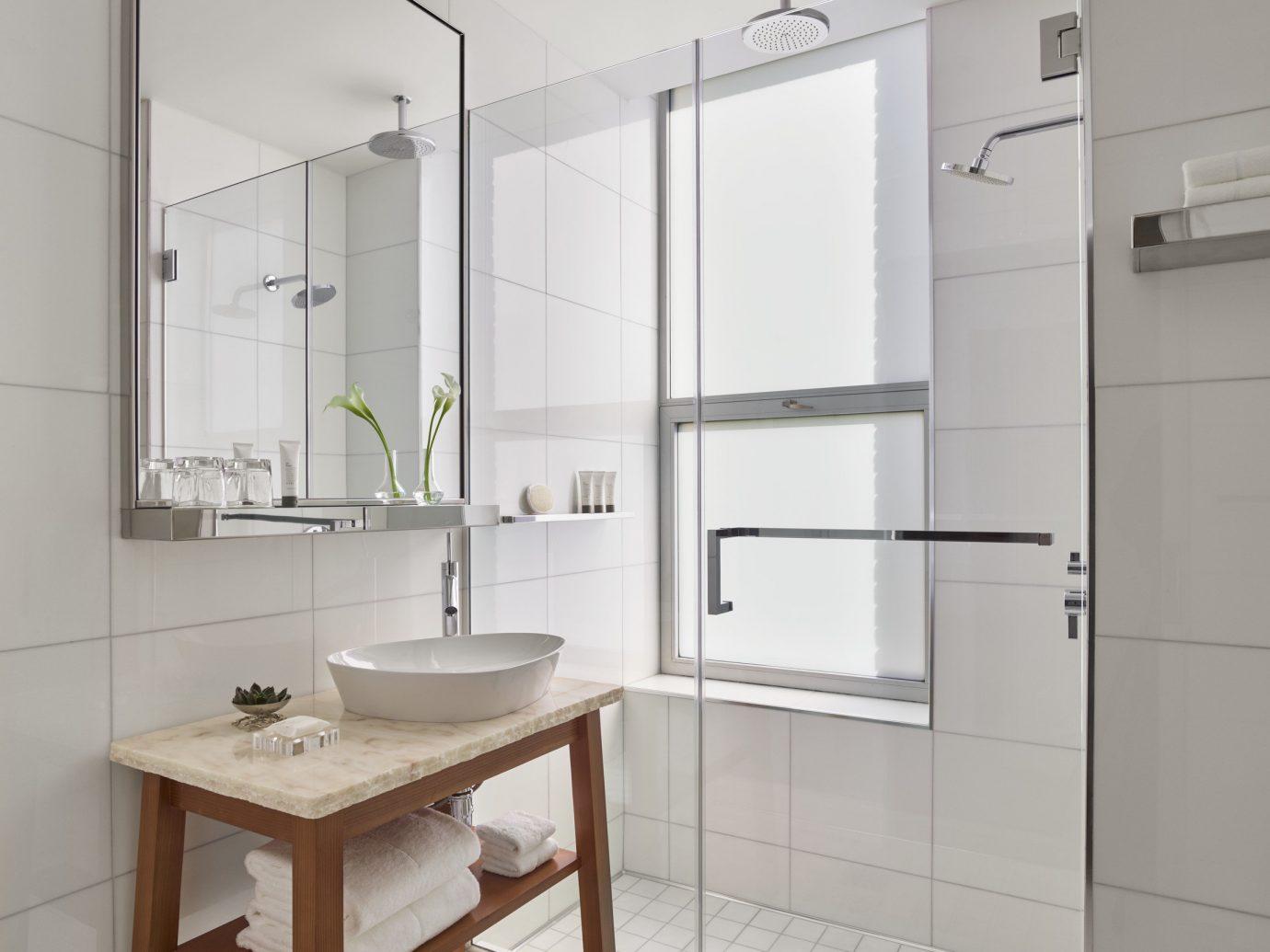 NYC Trip Ideas indoor bathroom room bathroom accessory sink bathroom cabinet product design interior design plumbing fixture floor angle tap interior designer