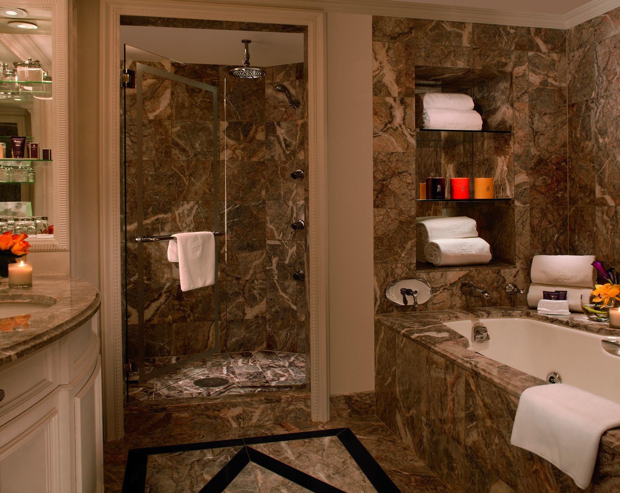 Hotels Luxury Travel indoor room interior design wall bathroom countertop flooring window floor tile area